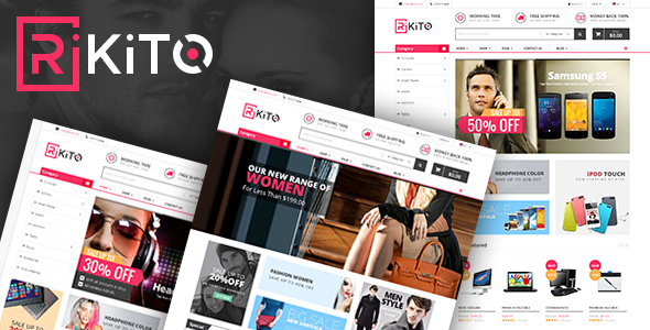 Vina Rikito v1.0 – Responsive VirtueMart Joomla Template