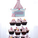 Princess Sleeping Beauty cupcake towers