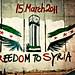 Freedom To Syria.. by Sara's iPod..