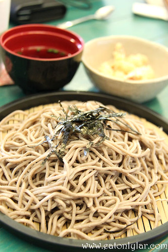Cold Soba Noodles with Fried Ebi, Poco Homemade, Café & Atelier