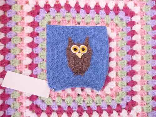 Pamela (UK) Your 'Owl' Square has arrived thank you!