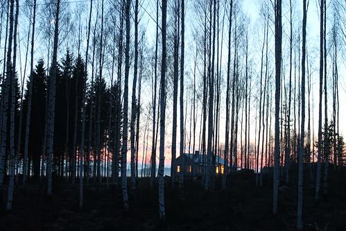 longexposure night finland spring nurmijärvi laurilaurén
