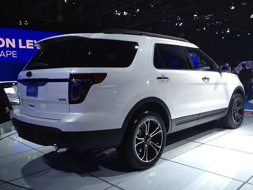 2013 Ford Explorer Sport @ the 2012 New York International Auto Show