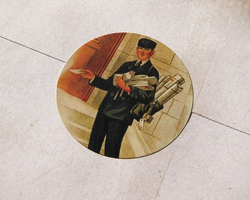 Mr. Postman sticker