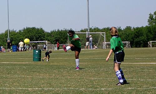 Emi Kicking