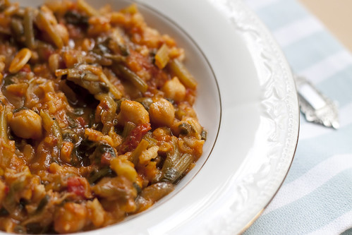 Vegetarian Spinach Stew