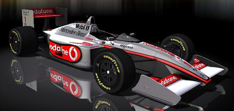 [rFactor] Formula Armaroli 2010 Skin McLaren