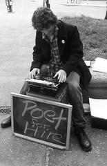 A Street Poet in Portland