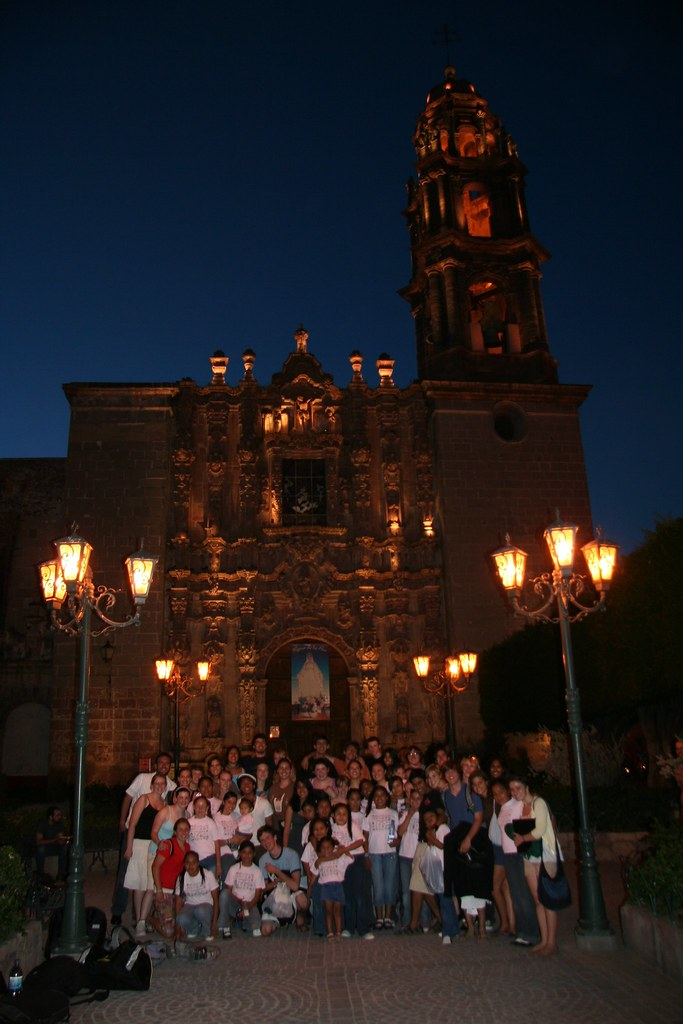 Palo Alto High School Choir with Anyel Choir in San Miguel de Allende