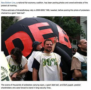 Debt Ball at BofA shareholder meeting