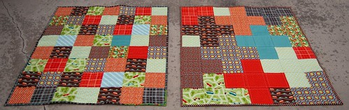 Wheels Twin Quilts