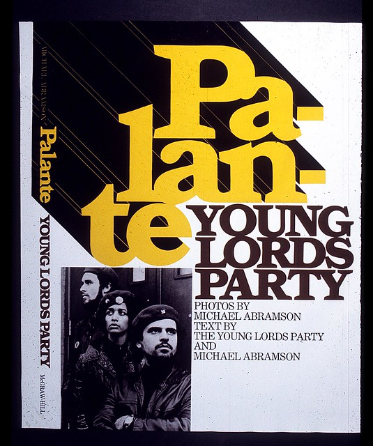 """Palante:Young Lords Party"" book jacket"