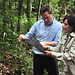 Nick Clegg visiting the Forest