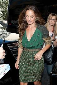Minka Kelly Clashing Prints Celebrity Style Women's Fashion