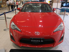 automobile(1.0), toyota 86(1.0), automotive exterior(1.0), toyota(1.0), vehicle(1.0), performance car(1.0), automotive design(1.0), auto show(1.0), bumper(1.0), land vehicle(1.0), luxury vehicle(1.0),