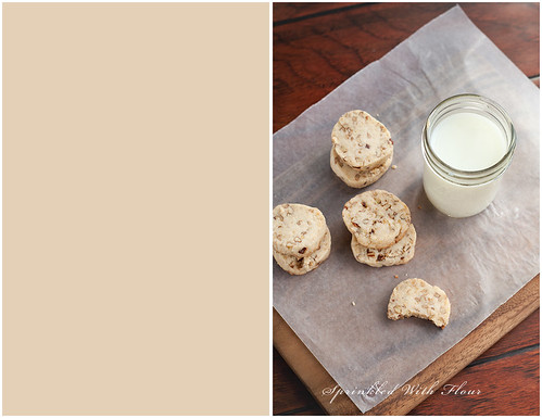 Brown Butter Pecan Shortbread