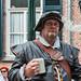 Man in historische kleding