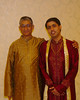 With my father