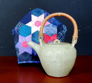 Teapot and Star Flower Cozy