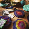 Packaging #felt coasters at home today