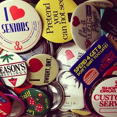 treasure trove of buttons