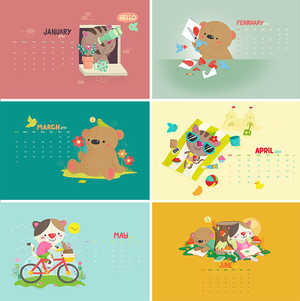 Wedgienet 2013 wallpapers - the first six months