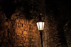 Lampe an der Burg Bratislava (Pressburg)