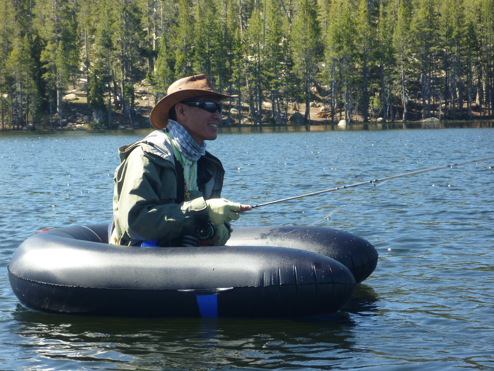 Custom ultra light float tube page 7 washington fly for Fly fishing float tube