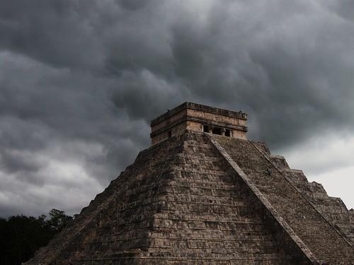 Storm over Chichen Itza