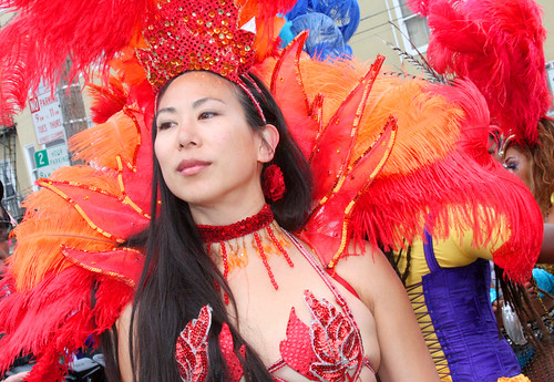SF Carnaval: Candid Woman