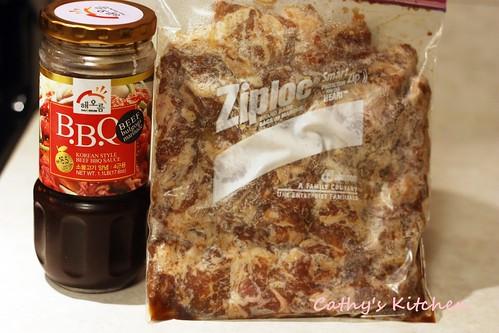 韓式烤肉粉絲湯  BulGoGi Soup 5