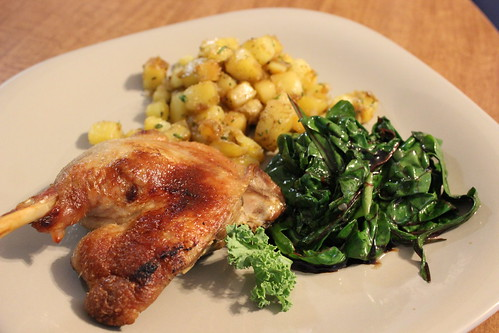 Duck, Swiss Chard, & Potatoes