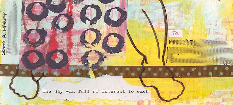 memory mail art