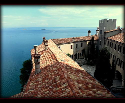 sea italy castle italia mare castello trieste duino friuliveneziagiulia