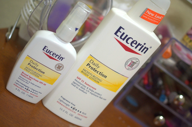 Eucerin skincare products