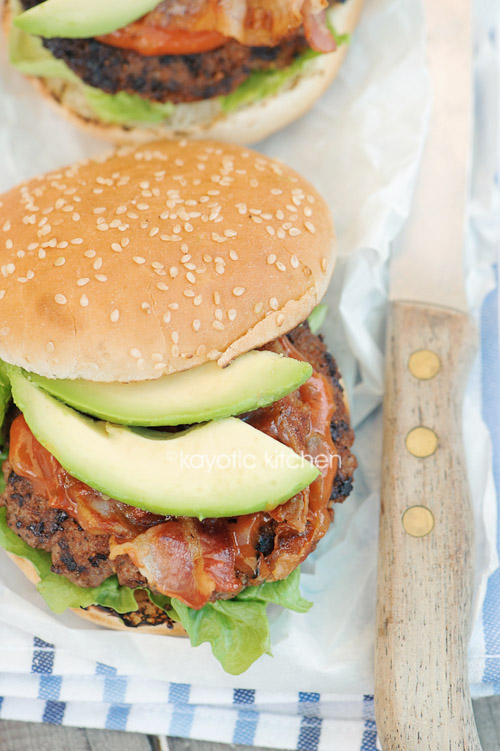 Bacon & Avocado Burger