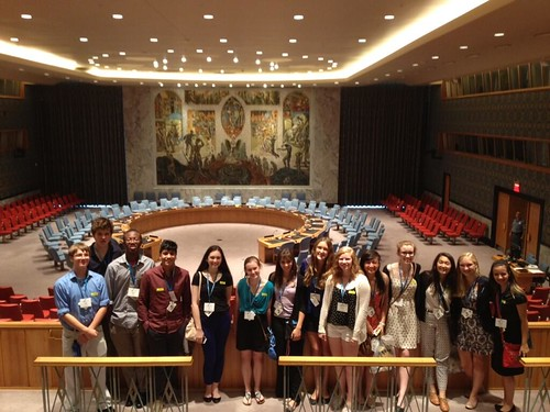 NSLC INTL visits United Nations