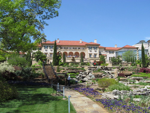 Philbrook Museum and Gardens by Michael Bates