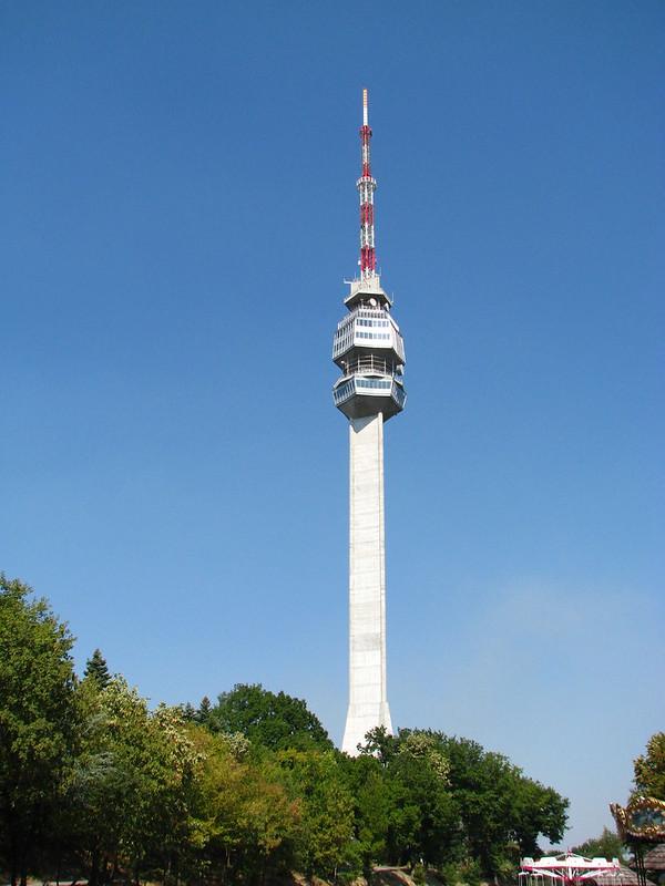 Avala TV tower, Belgrade