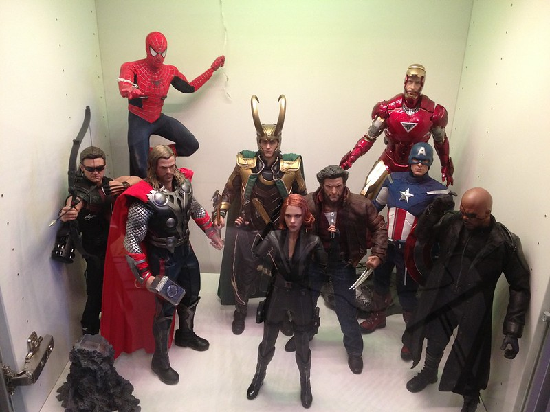 Sixth scale collection so far: Avengers