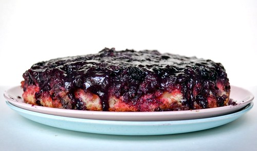 patriotic blueberry poke cake