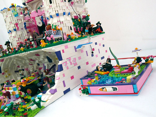 friends bricks friendsington castle. Black Bedroom Furniture Sets. Home Design Ideas