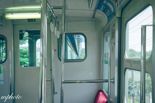 湘南單軌電車內部