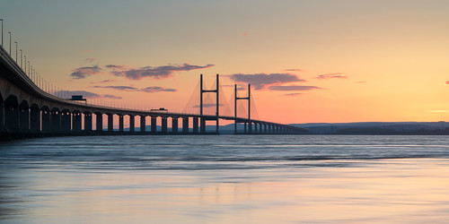 sunset severnbeach secondseverncrossing severnbridges
