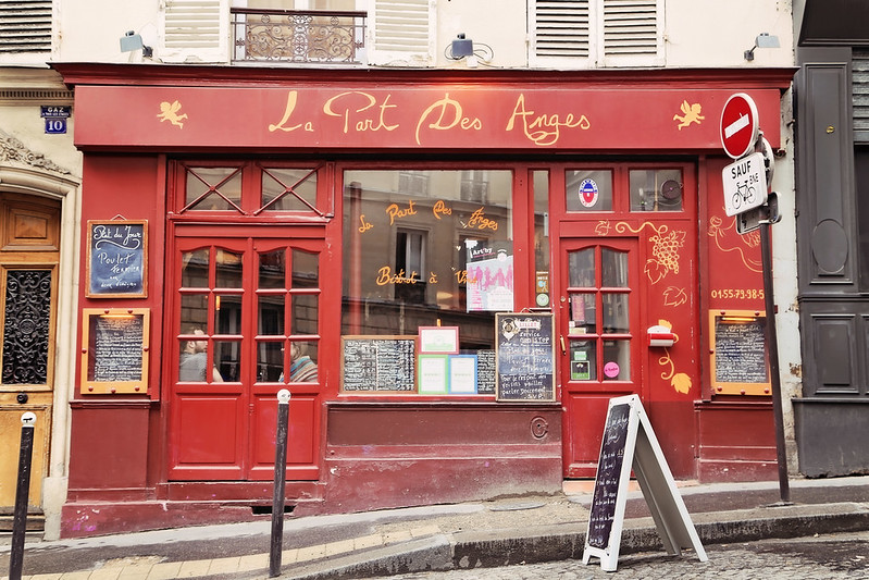 La Part des Anges, Bistrot a Vin