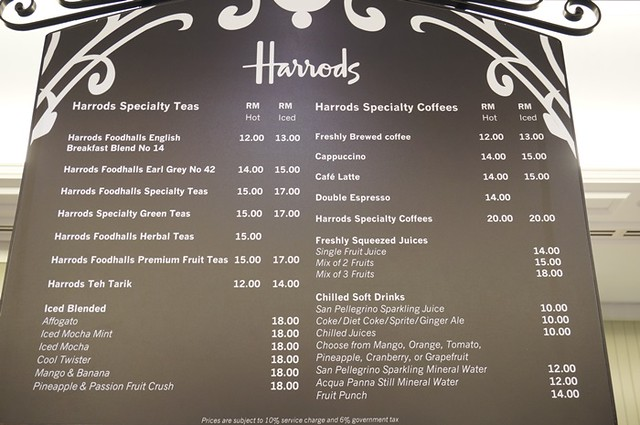 harrods cafe KLCC - tea, scones, sandwiches, cakes 1 (3)