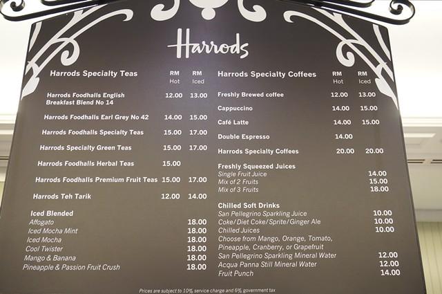 harrods cafe KLCC - tea, scones, sandwiches, cakes 1 (3)