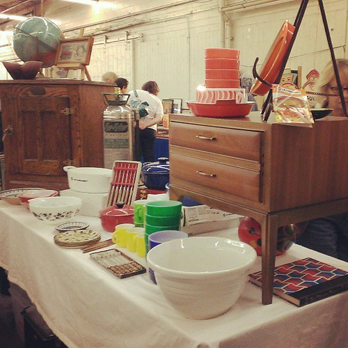 antique fair #sf