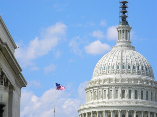 windows sky clouds dc washington day flag capital dome scaffold alzheimers alz ilobsterit pwpartlycloudy