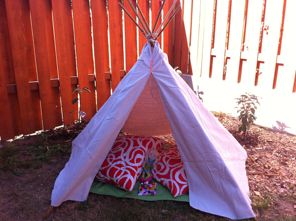 our summer teepee